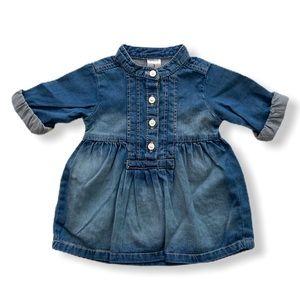 Baby Girl Denim Dress - Bundle Me!